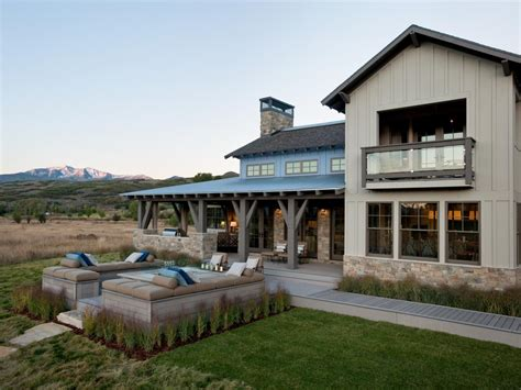 modern rustic home photos hgtv