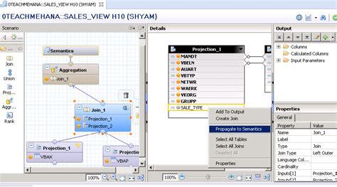 tutorial on sap calculated column in sap hana sap hana tutorial