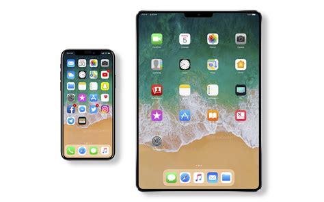 apple ipad  face id  ecran sans bords des  frandroid