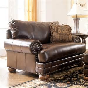 Ashley Furniture Chair And A Half Ashley 99200 23 Chaling Durablend Chair And A Half
