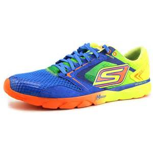 Home shoes mens athletic skechers go run speed mens yellow running