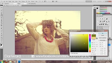 tutorial photoshop cs5 vintage summer colouring photoshop cs5 cross processing