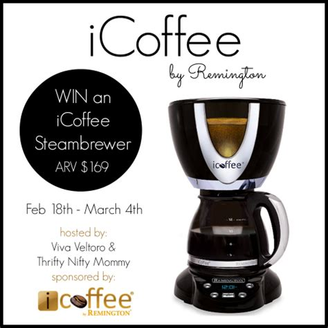 Coffee Maker Giveaway - icoffee steambrewer coffee maker giveaway the bandit lifestyle