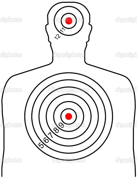 printable targets human pin by lucas dockendorff on silhouette targets pinterest