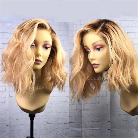 hair blonde front black back 1629 best hair wigs images on pinterest lace closure