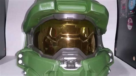 How To Make A Master Chief Helmet Out Of Paper - halo 5 master chief wearable helmet review