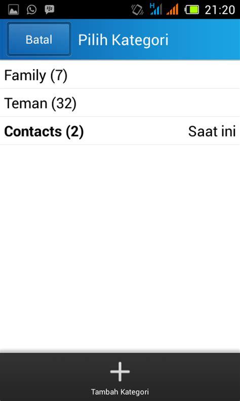 membuat virus bbm android membuat kategori kontak bbm android kumpulan ilmu