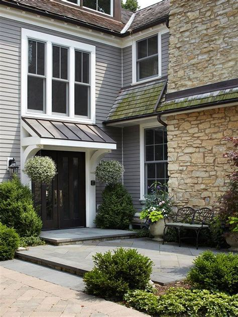 copper porch awning 11 ways to add color to your exterior pinterest copper
