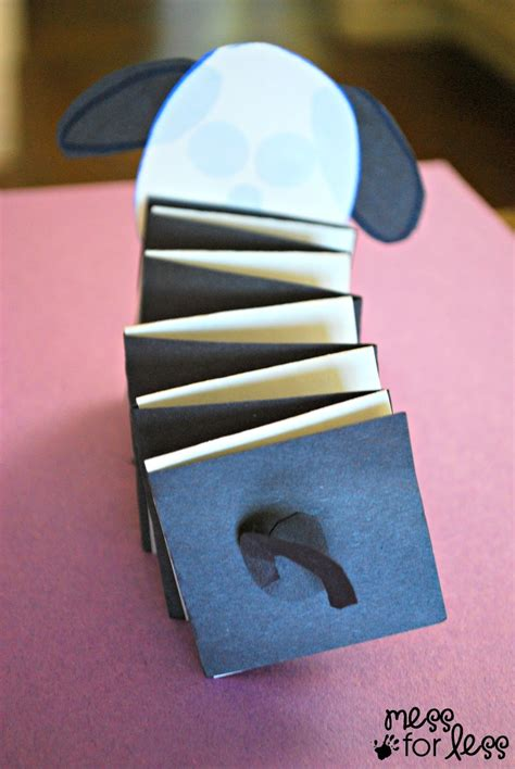 How To Make Animals Out Of Construction Paper - paper crafts for mess for less