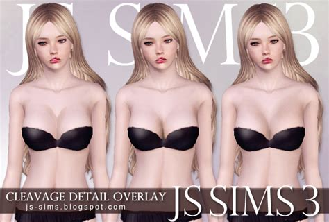 sims 4 overlay skin cleavage js sims 3 cleavage detail overlay