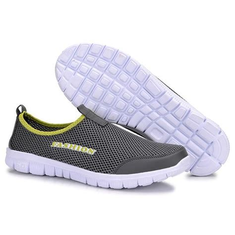 Murah Mainan Anjing Gigit Sepatu Shoes sepatu slip on kasual pria size 40 gray jakartanotebook