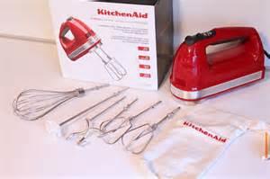 kitchenaid hand mixer colors qvc kitchen aid 7 speed digital hand mixer w bag amp dough hooks