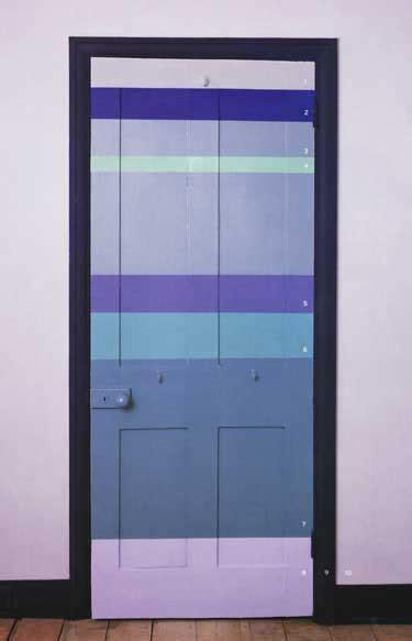 Painted Interior Door Ideas Lil Pix 28 Striped Door Nibs