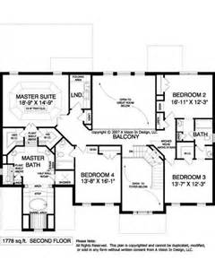 upstairs floor plan architecture