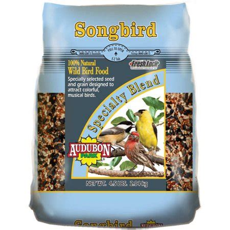 audubon park hummingbird food rating audubon park 10777 4 5 lb songbird bird food walmart