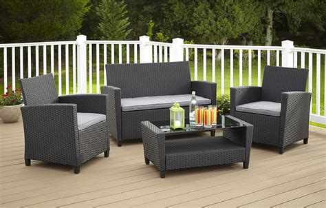 weather resistant patio furniture resin wicker weather resistant outdoor furniture kmart