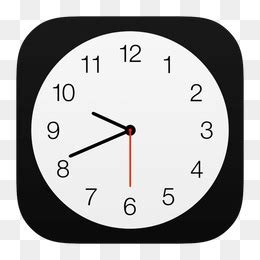 Timer Analog 3 Jam By Pc Store ios时钟素材 免费下载 ios时钟图片大全 千库网png