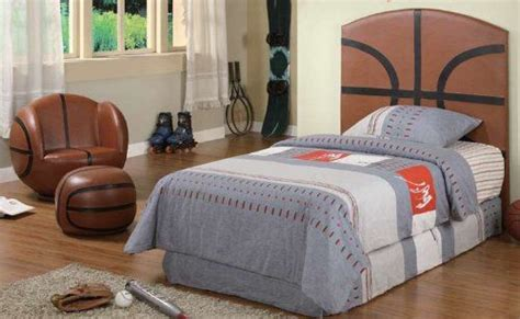 kid headboards kid youth basketball twin size bed headboard 164 50