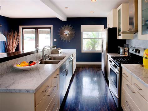 Small Area Kitchen Design kitchen layout templates 6 different designs hgtv