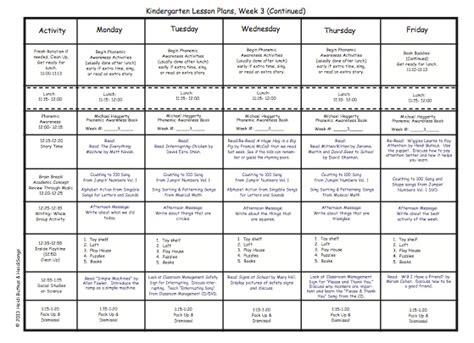 kindergarten lesson plans week three heidi songs