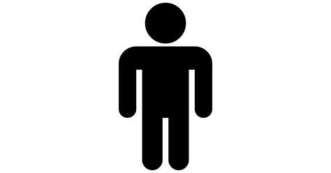imagenes negras sin fondo hombre de pie silueta negra iconos gratis de personas