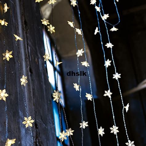 curtain star lights ikea strala snowflake star lights curtain stars led kallt