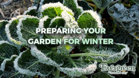Preparing Garden For Winter by Preparing Your Garden For Winter Evergreen Of Johnson