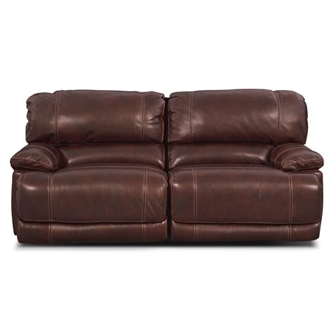 Burgundy Reclining Sofa St Malo Power Reclining Sofa Burgundy Value City Furniture