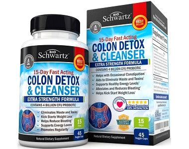Detox And Colon Cleanse Reviews by Bioschwartz Colon Detox And Cleanser Review Is It A Scam
