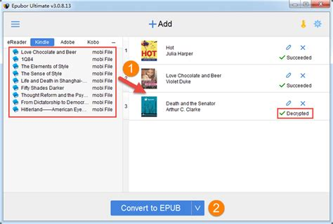 ebook format epub kindle get free epubor ultimate ebook drm removal converter