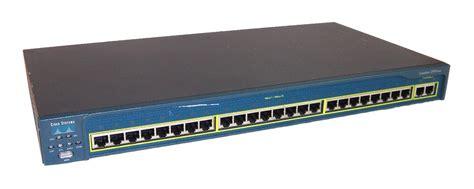 Switch Cisco Catalyst 2950 cisco ws c2950t 24 catalyst 2950 24 port switch ver 12 1 22 ea12 ebay