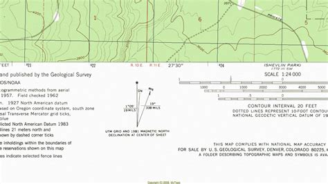 declination diagram on a map sense of the declination diagram outdoor quest
