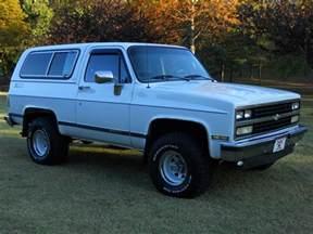 1989 Chevrolet Blazer 1989 Chevrolet Blazer Pictures Cargurus