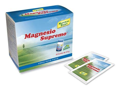 magnesio supremo proprieta magnesio supremo i segreti di questo integratore alimentare