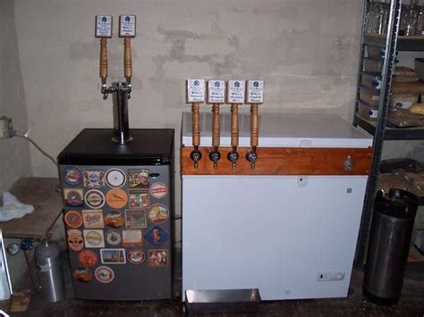 reddit basement living room keg tap kegerator build diy homebrew i need to build one of these home project