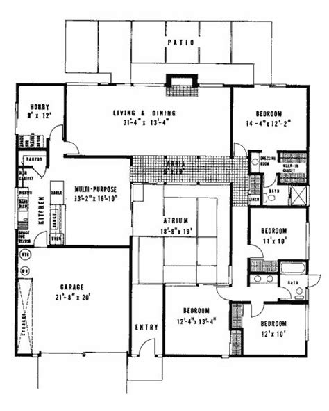 eichler atrium floor plan 25 best ideas about joseph eichler on pinterest eichler