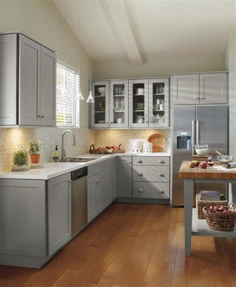 Masterbrand Kitchen Cabinets schrock grey kitchen cabinets traditional kitchen