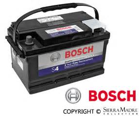 Porsche 924 Battery by Porsche Parts Battery Bosch S4 924 76 79