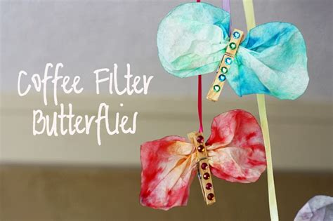 craft projects for 10 year olds mallory s musings kid s craft coffee filter butterflies