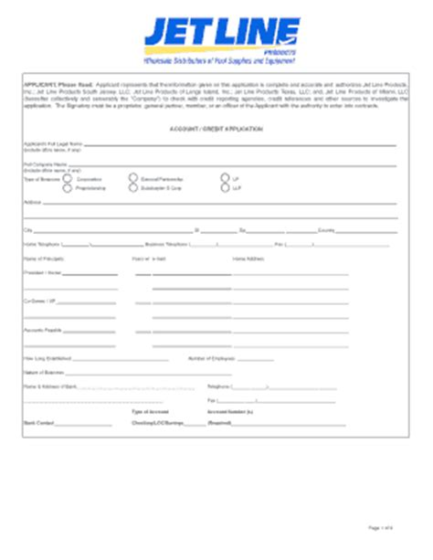Jet Credit Application Form Jet Sms Number To Open An Account Fill Printable Fillable Blank Pdffiller