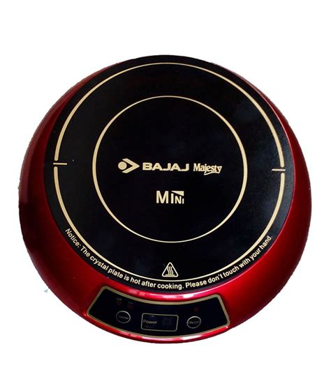 mini induction plate bajaj 1200w mini induction cooktop price in india buy bajaj 1200w mini induction cooktop