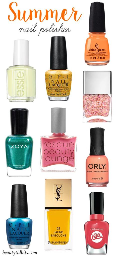 what are summer colors best 25 summer nail colors ideas on