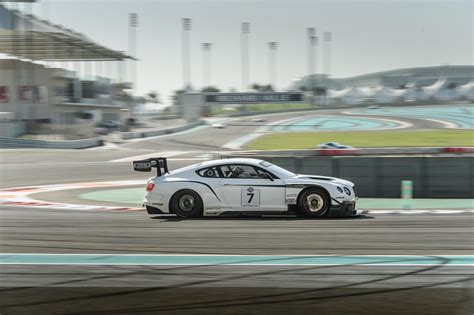 Bentley Continental Gt3 Finishes Fourth In First Ever Race