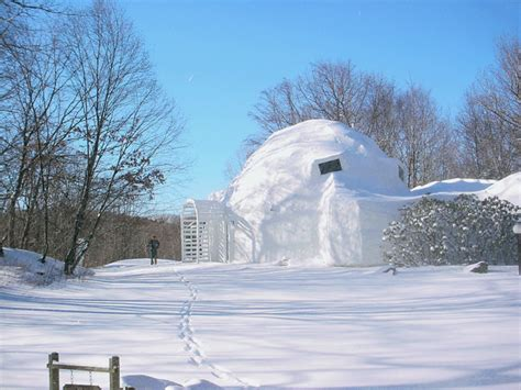 igloo house architecture planning and design