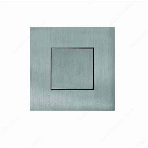 Recessed Door Knob Wall Protector by Loaded Square Pull Richelieu Hardware