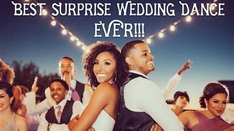 The BEST Surprise Wedding Dance EVER!!   BiancaReneeToday