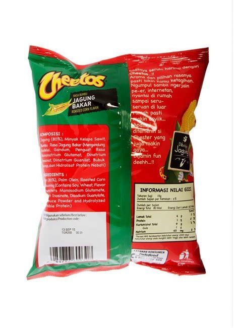 cheetos snack jagung bakar pck  klikindomaret