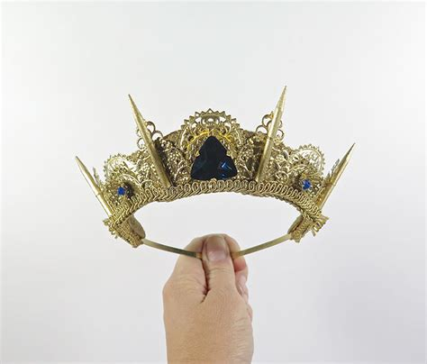 Handmade Crowns - handmade studded crowns are an actual thing