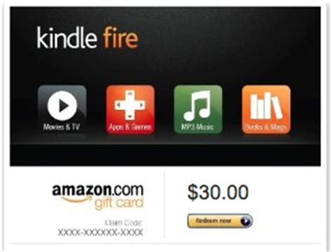 How To Use A Kindle Fire Gift Card - kindle fire gift card infocard co