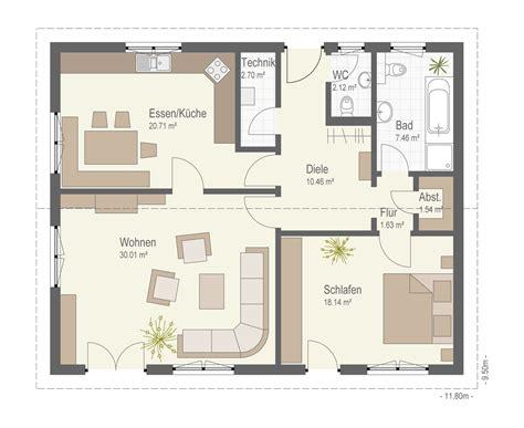1 schlafzimmer haus grundrisse grundriss bungalow mit 1 schlafzimmer haus design m 246 bel